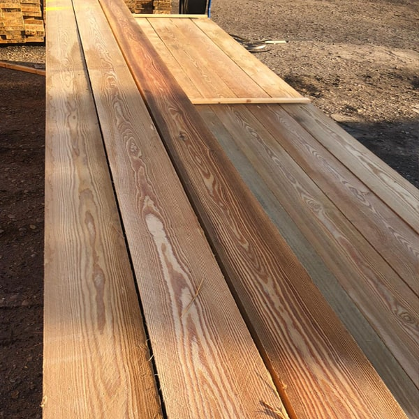 Siberian Larch Sawn Timber Fence Lengths