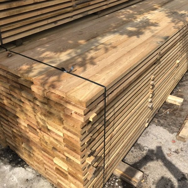 Pine / Redwood Planed Timber