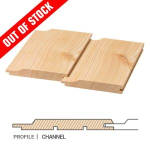 Siberian Larch Cladding Channel Profile