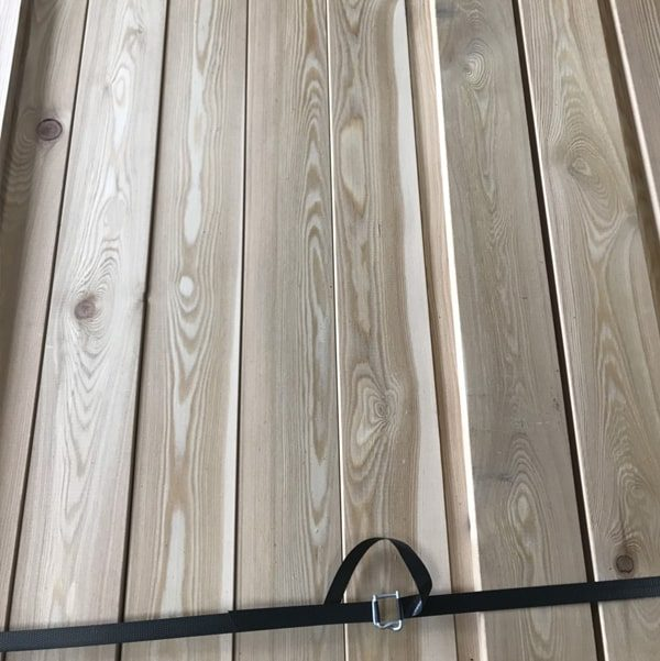 Nord Wood Timber Cladding Rainscreen Rhimbus