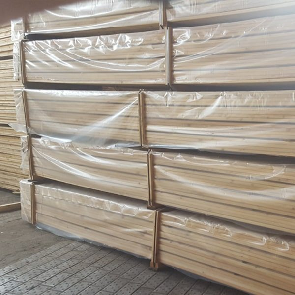 Siberian Larch Decking - Ribbed Profile d
