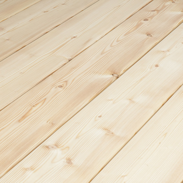 Siberian Larch Decking Smooth Profile - Nord Wood Timber