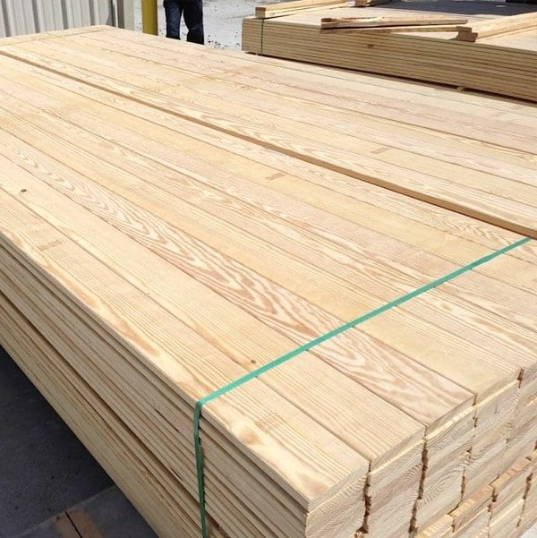 Nord Wood Timber Decking Smooth Profile