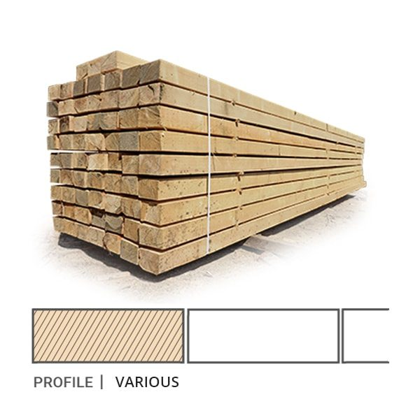 Siberian Larch Sawfalling (I-IV) Grade Sawn Timber 25 x 100mm (1 x 4) Siberian Larch Sawn Timber