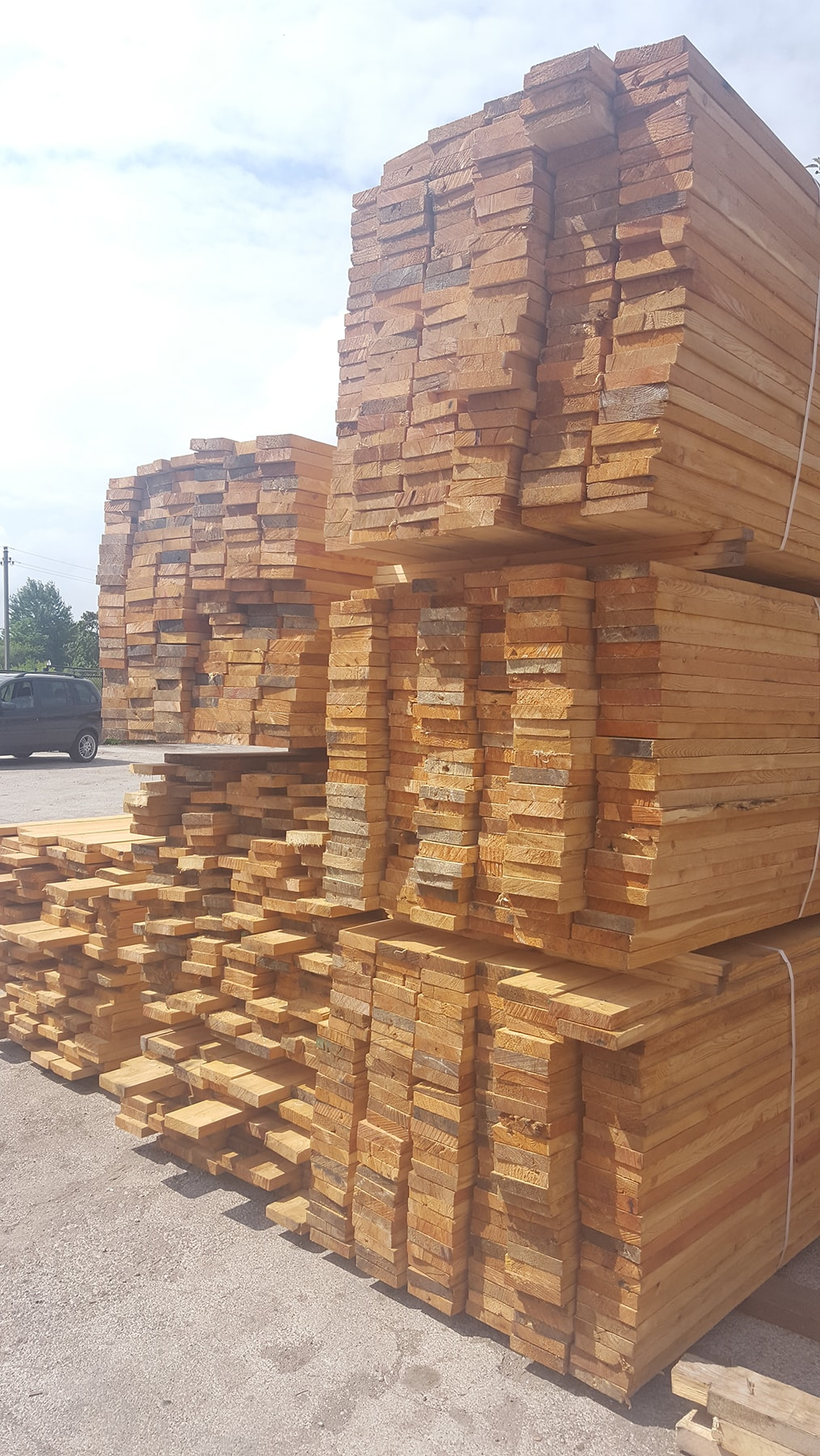 Redwood Sawn Timber Supplier