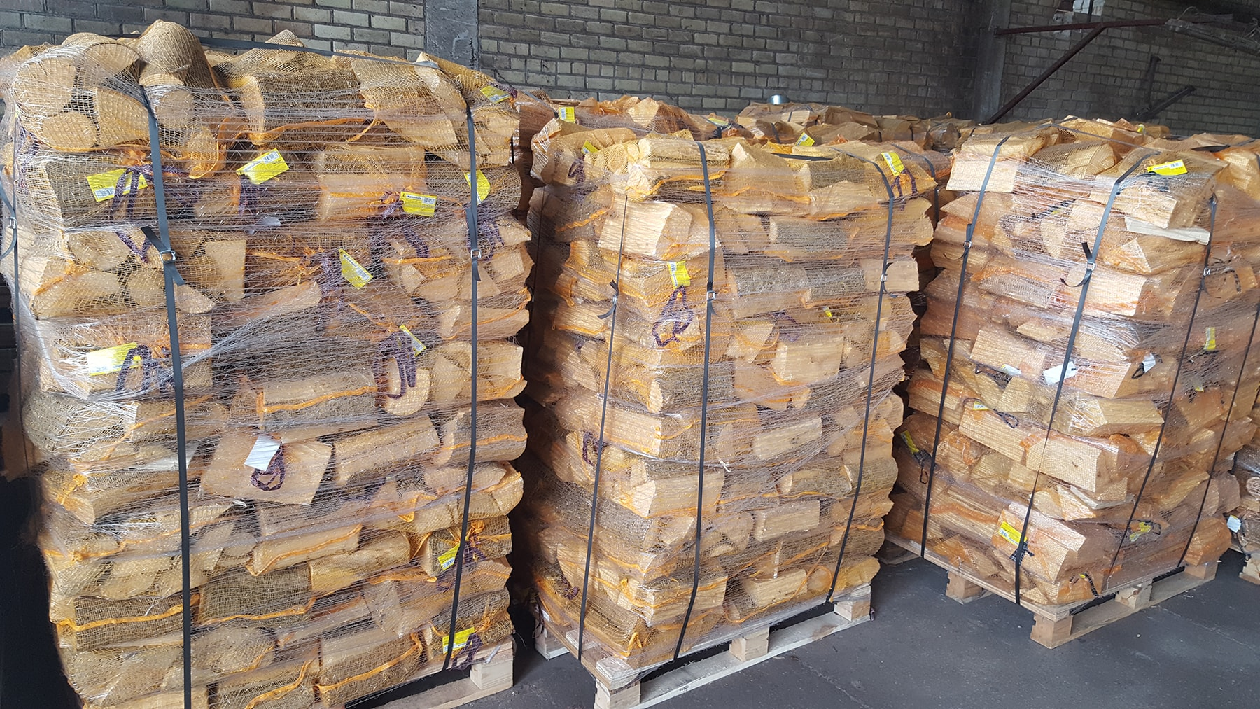 Firewood 40l Net Bags Wholesale