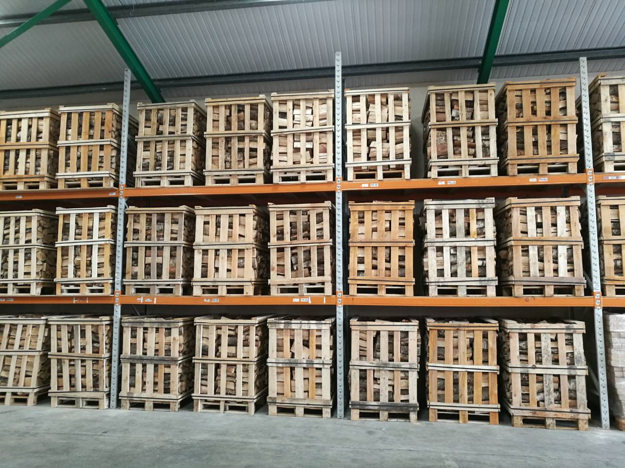 Firewood crates