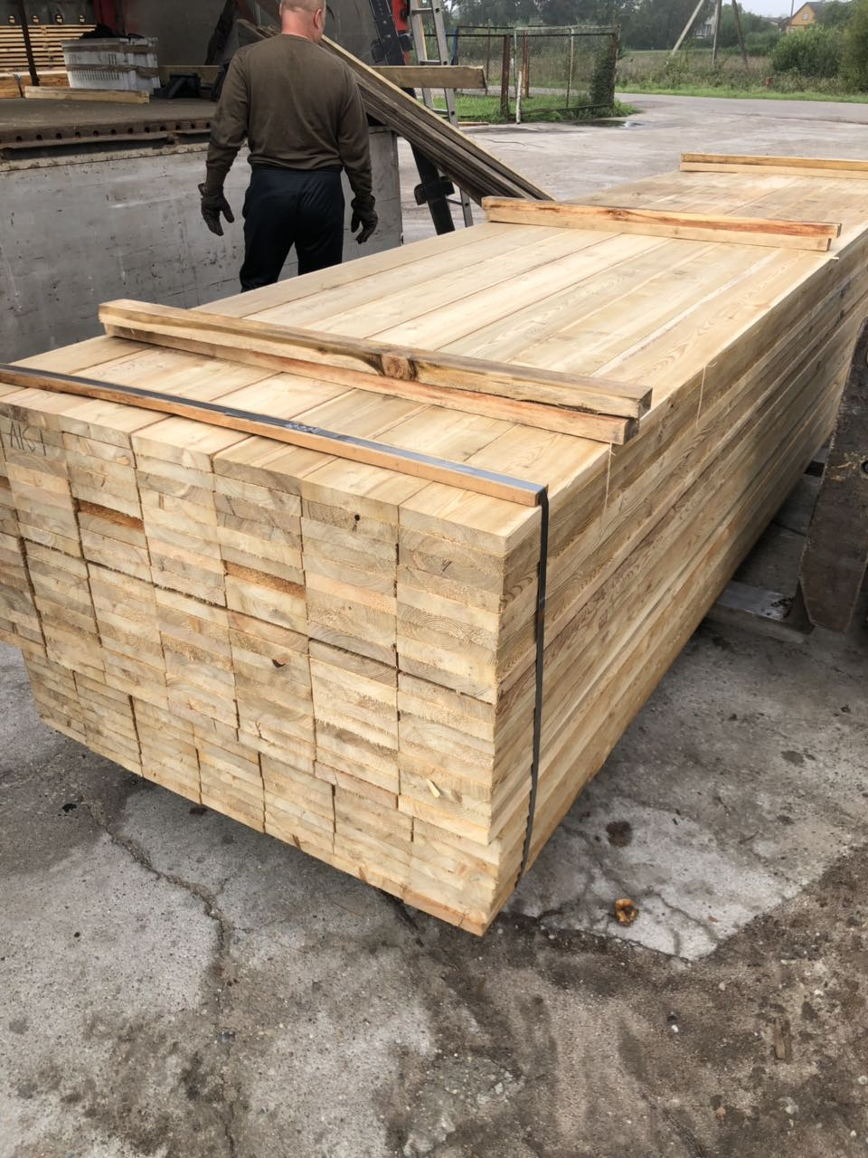 Siberian Larch Timber Supplier