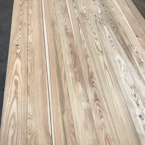 Nord Wood Timber Siberian Larch Cladding Smooth
