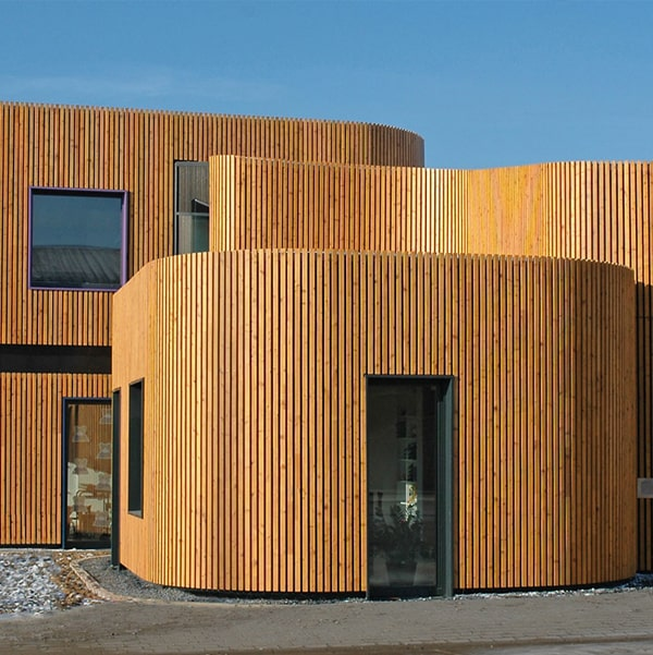 Siberian Larch Cladding Smooth Profile