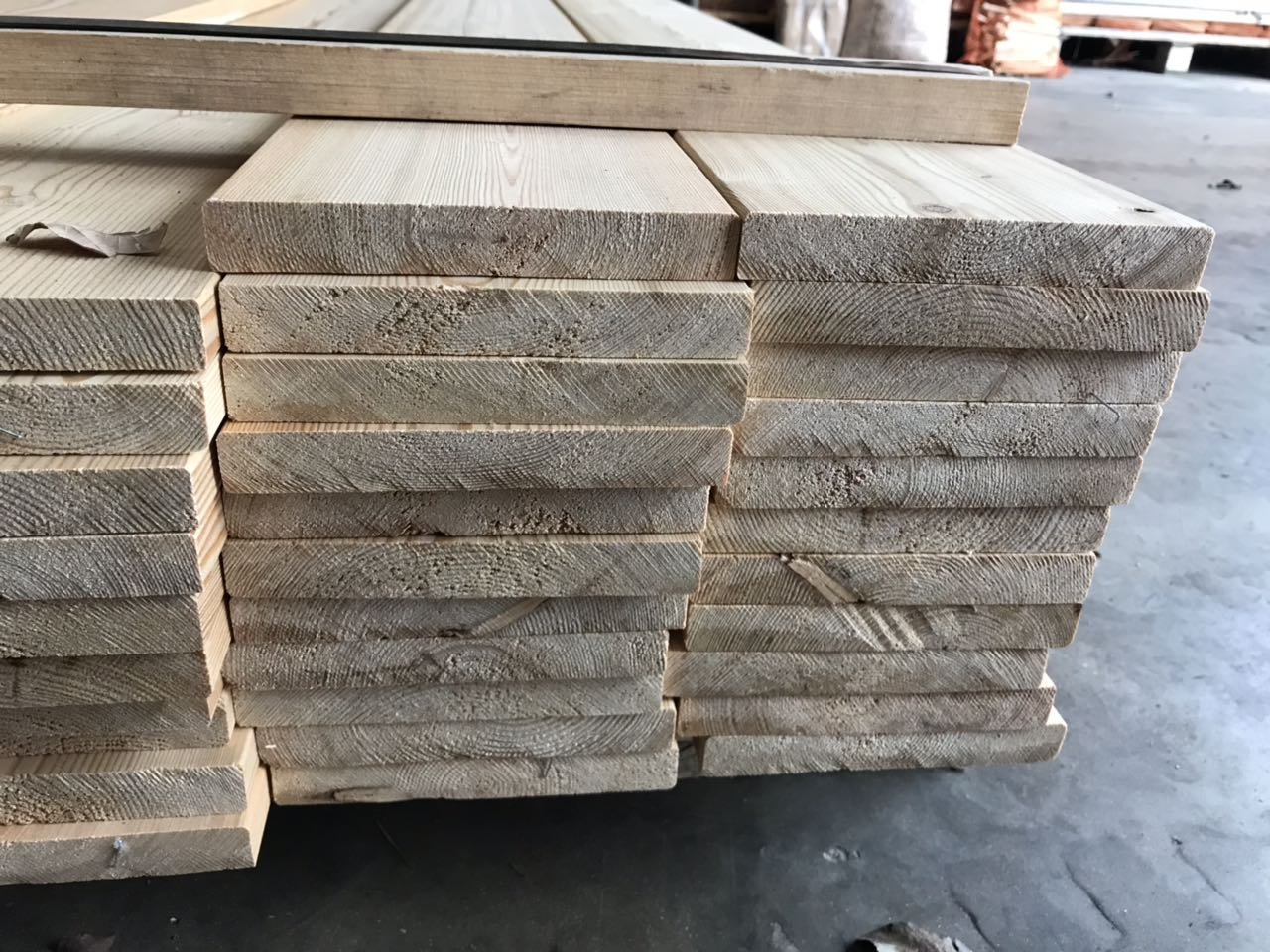 Siberian Larch Planed Timber