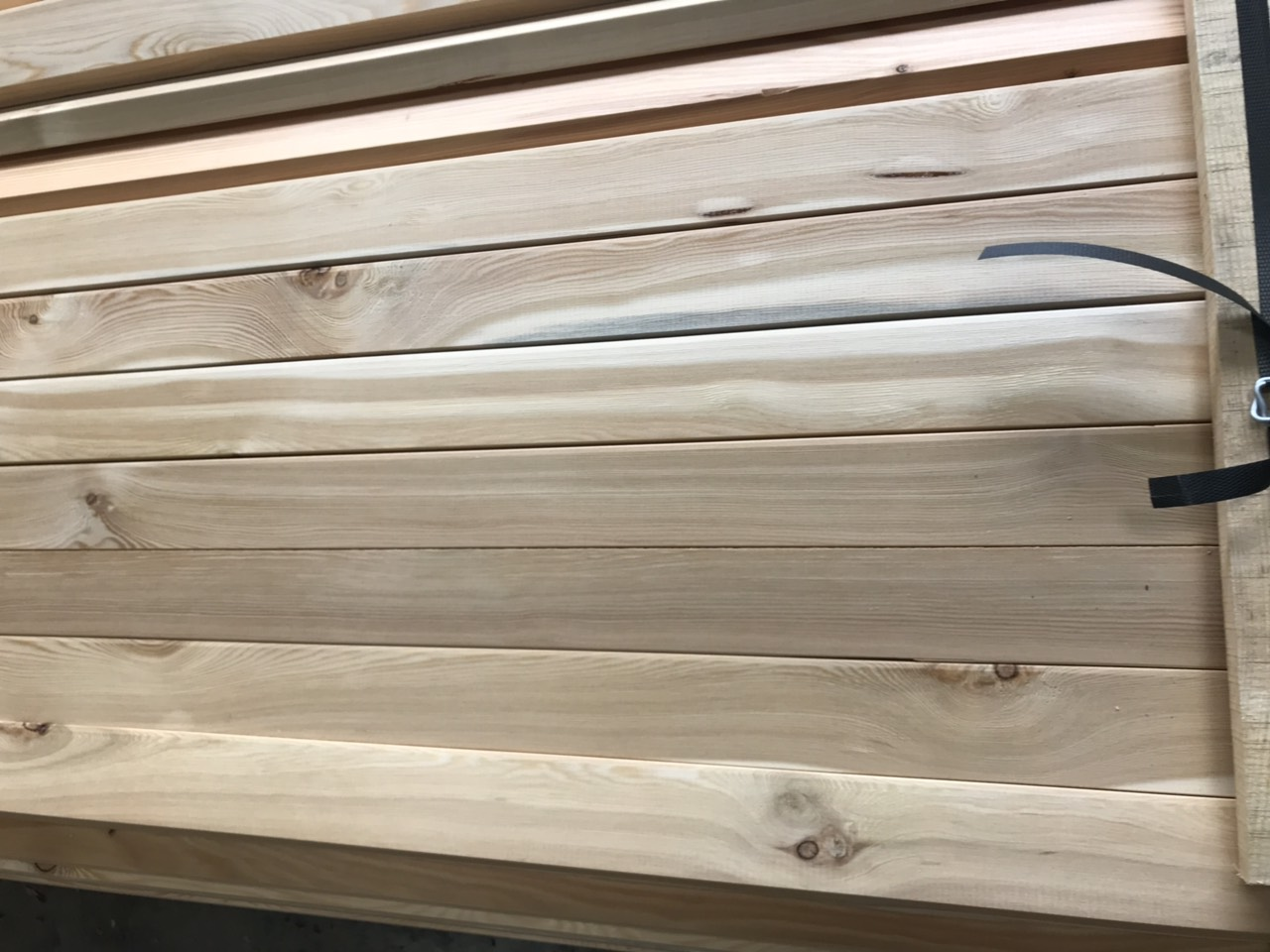 Siberian Larch Timber