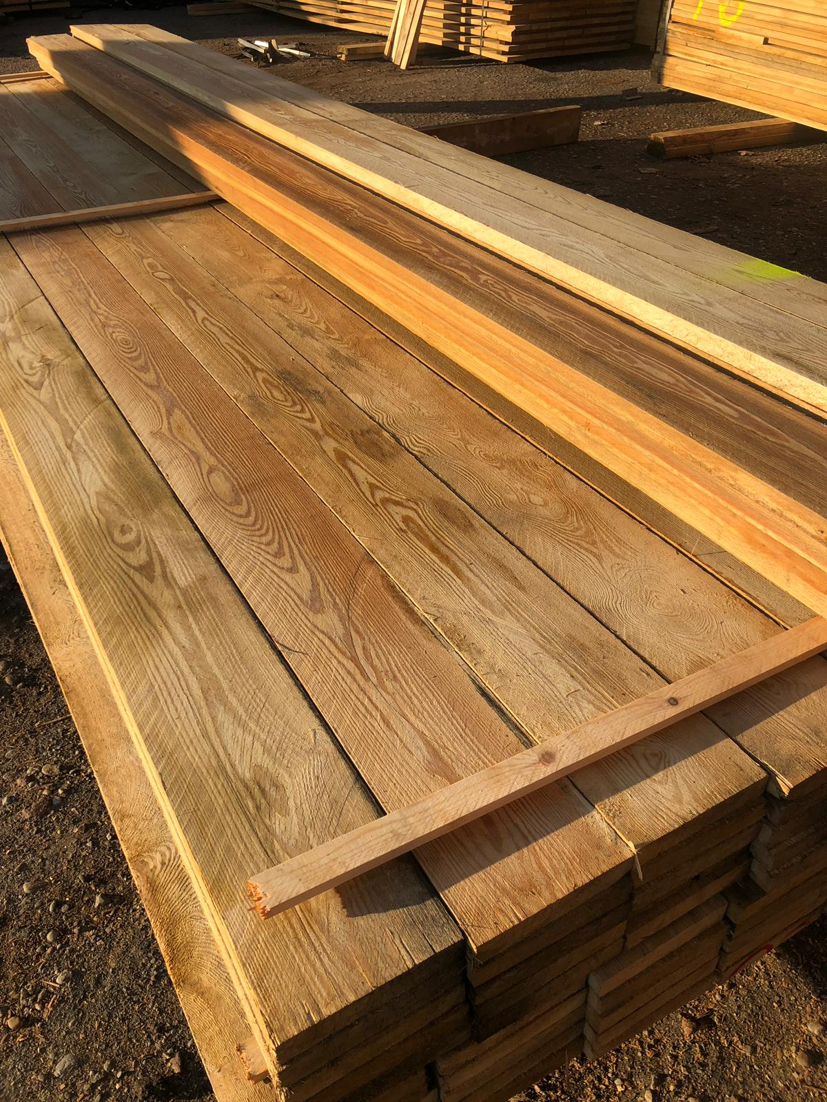 Siberian Larch Sawn Timber - Unsorted I-III - Nord Wood Timber