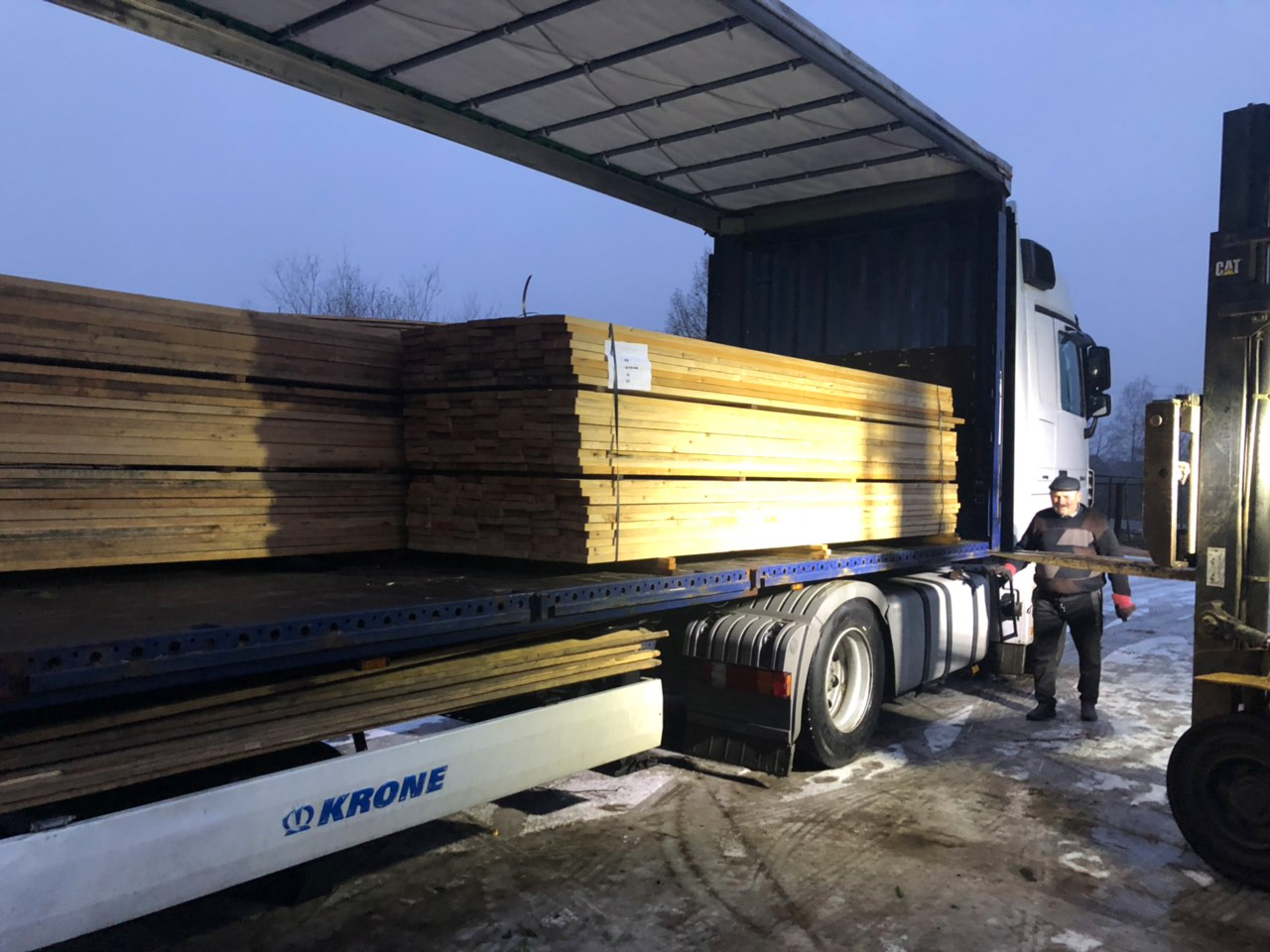 Siberian Larch Sawfalling I-IV and Unsorted I-III Timber Supplier - Nord Wood Timber