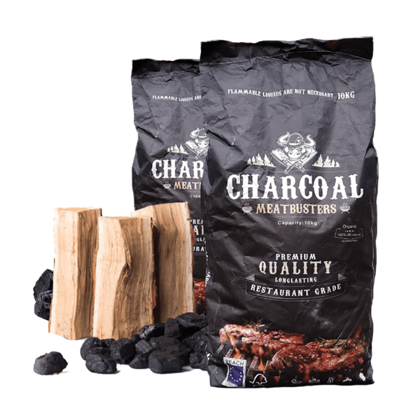 Meatbusters Restaurant Charcoal Premium Quality 10kg - UK Supplier - Nord Wood Timber