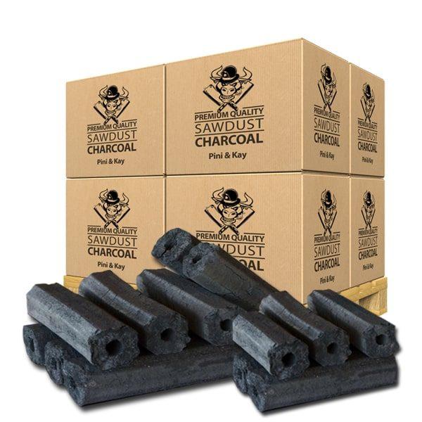 Restaurant Grade Charcoal Briquettes Pini Kay Premium Quality - Meatbusters