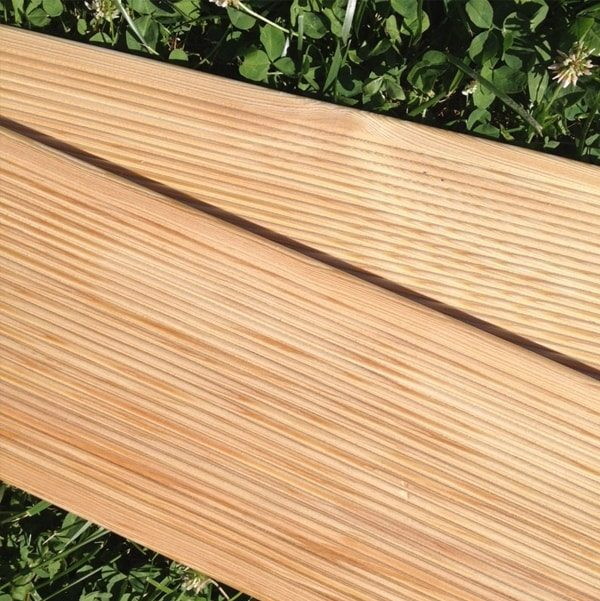 Siberian Larch Decking Smooth - Nord Wood Timber
