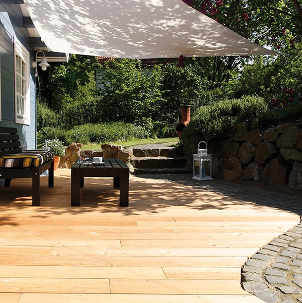 Siberian Larch Decking Smooth - Nord Wood Timber 3-min