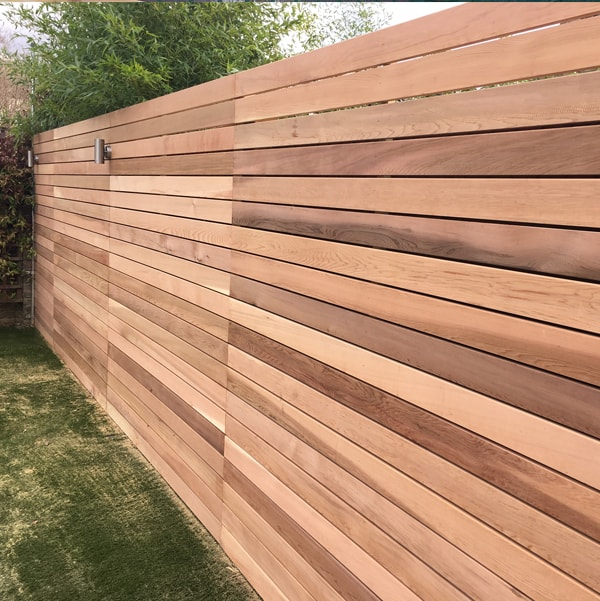 Siberian Larch Sawn Timber - Fencing Idea