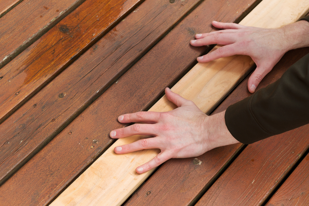 Spacing on Deck Boards in a Humid Area