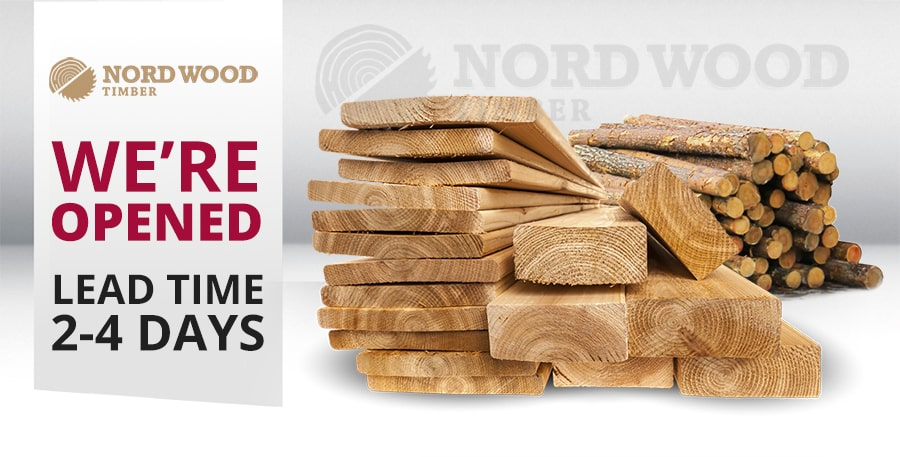 Nord Wood Timber - We're Opened