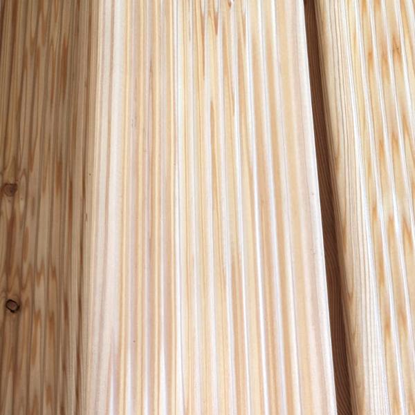 Siberian Larch Decking Sinus Profile - Nord Wood Timber